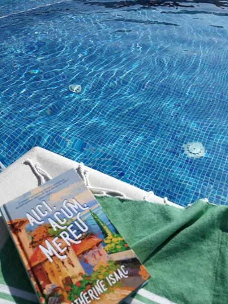 Lectura la piscina