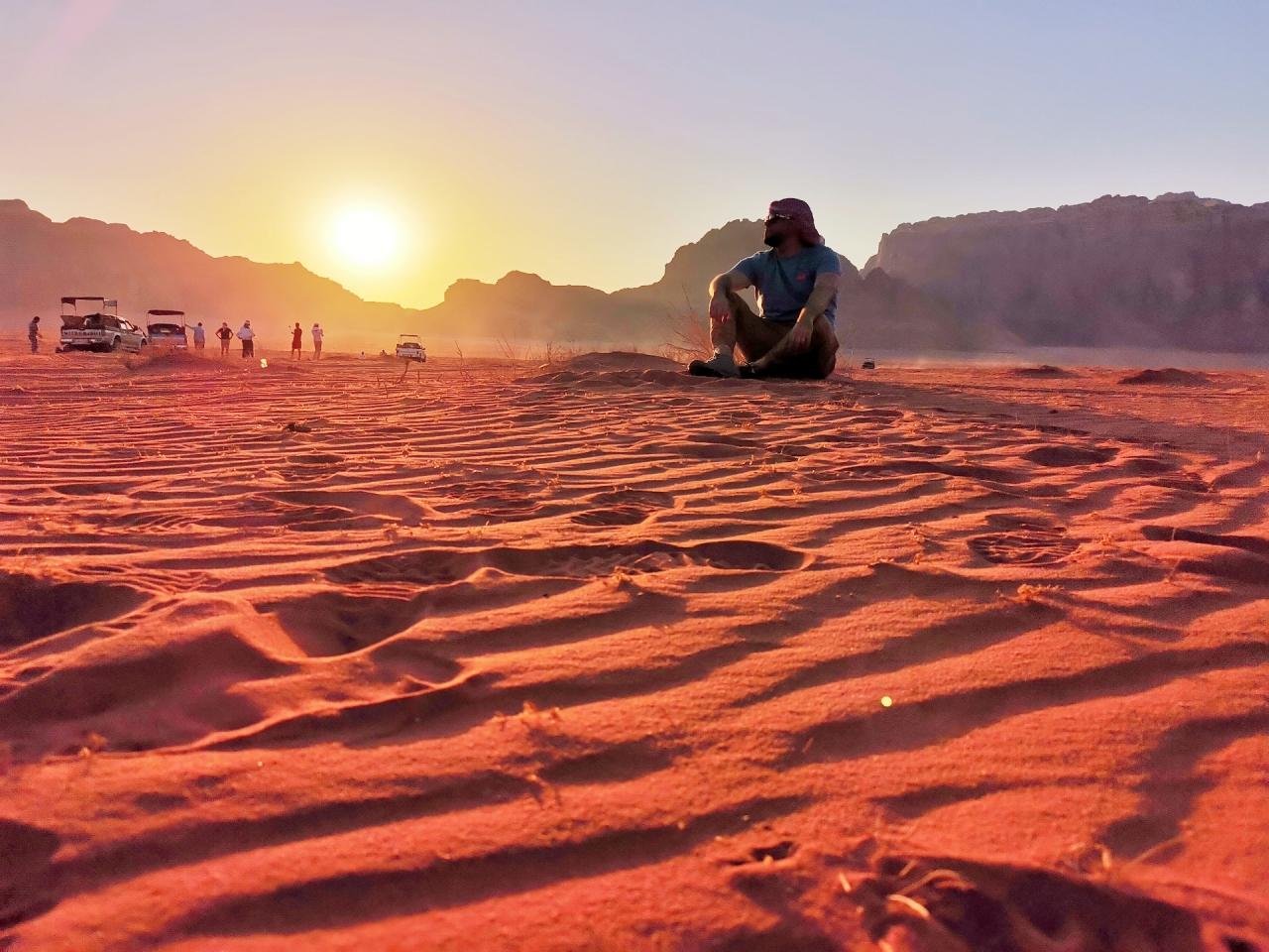apus desert wadi rum