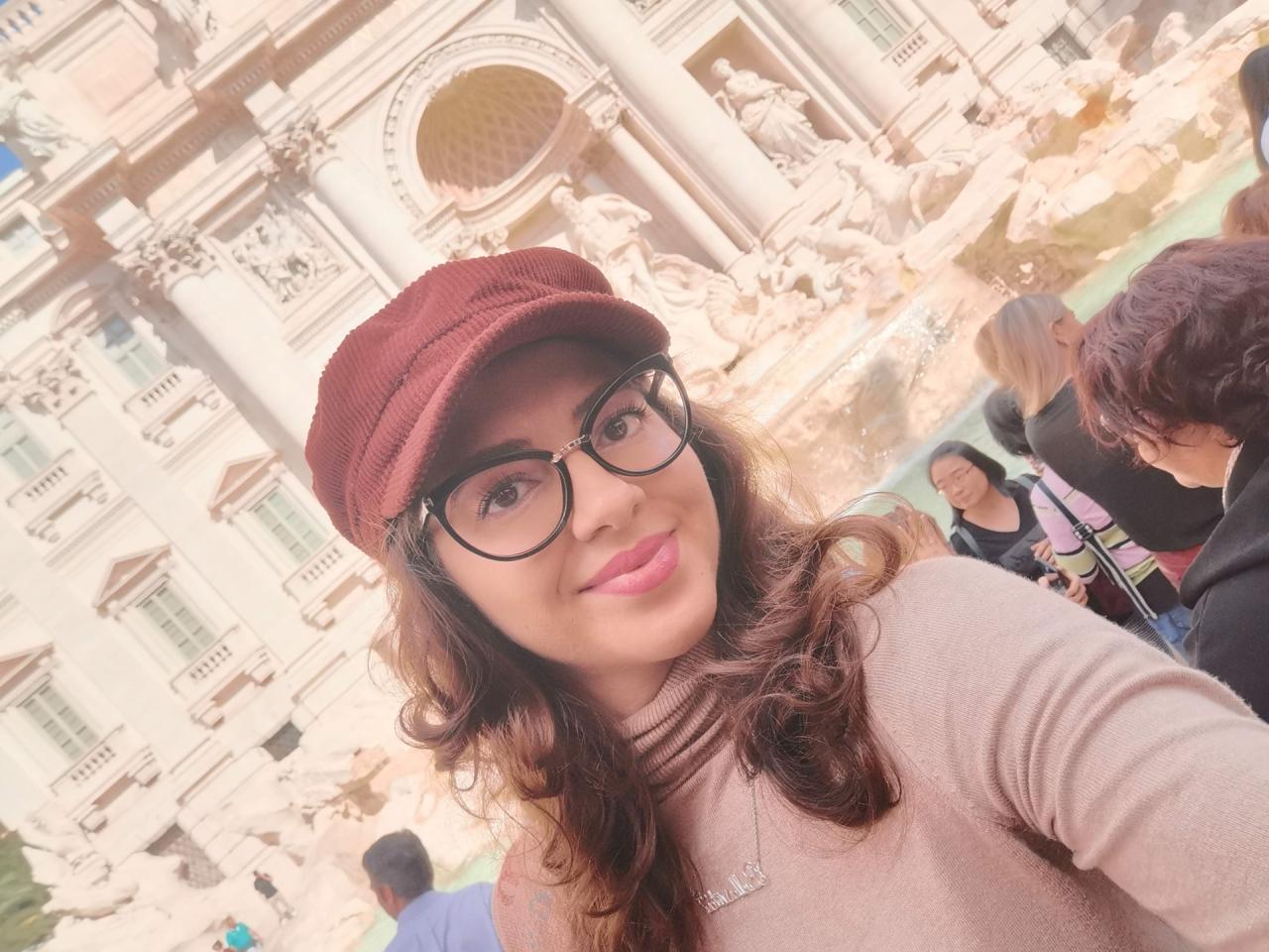 Selfie Fontana di Trevi