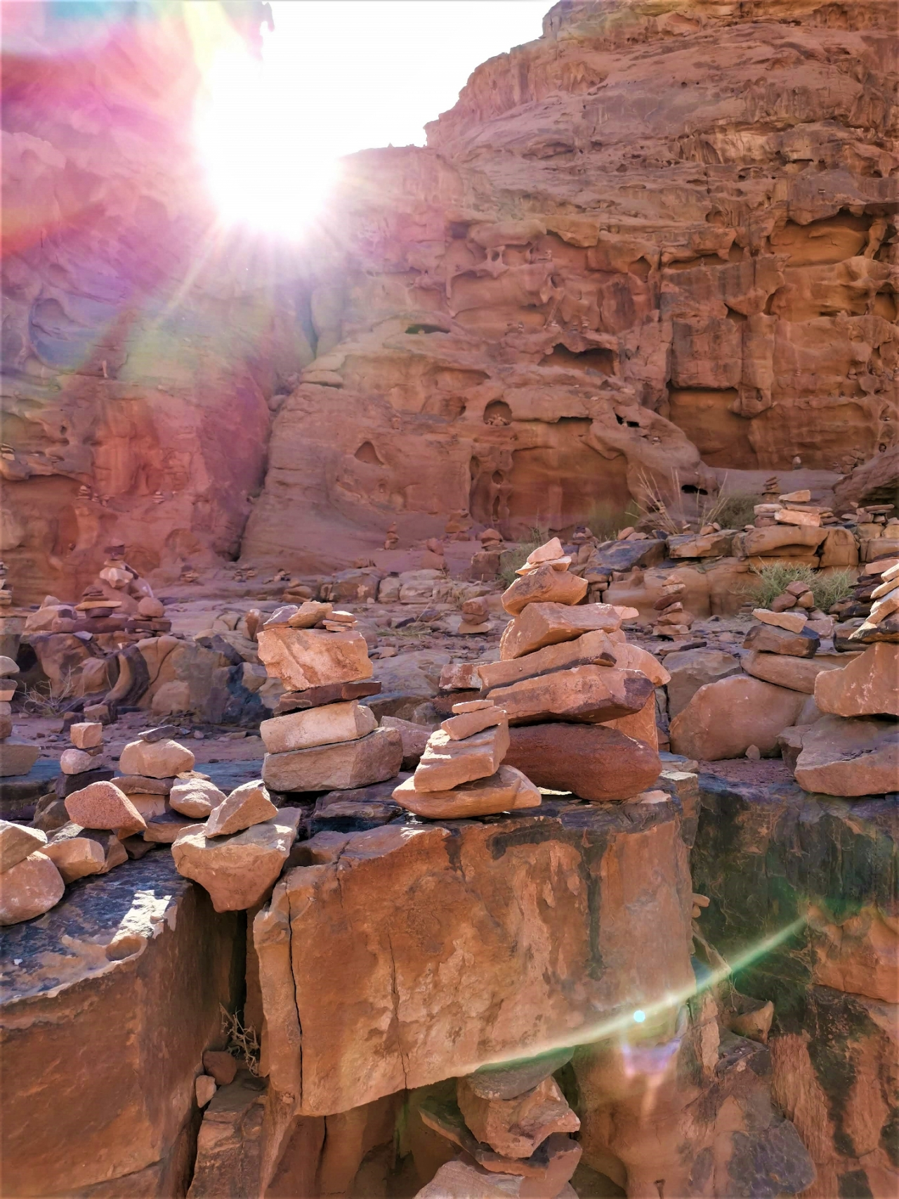 Pietre Wadi Rum Jordan