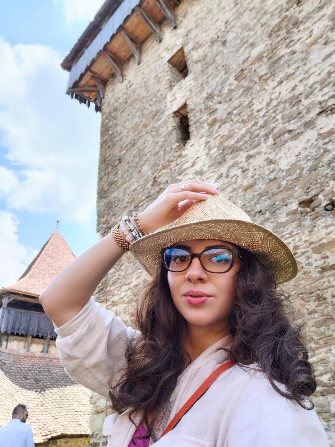 Selfie Viscri Romania