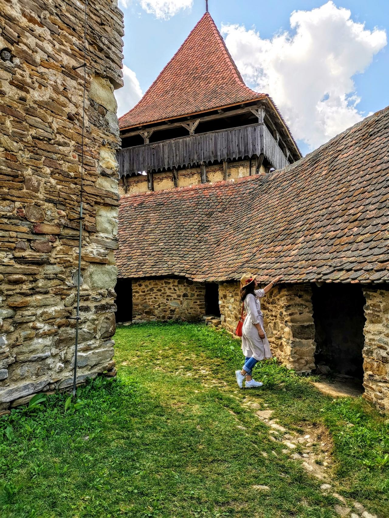 Biserica fortificata Viscri Romania