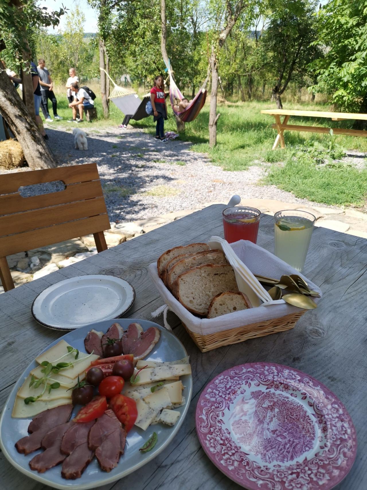 aperitiv din Viscri