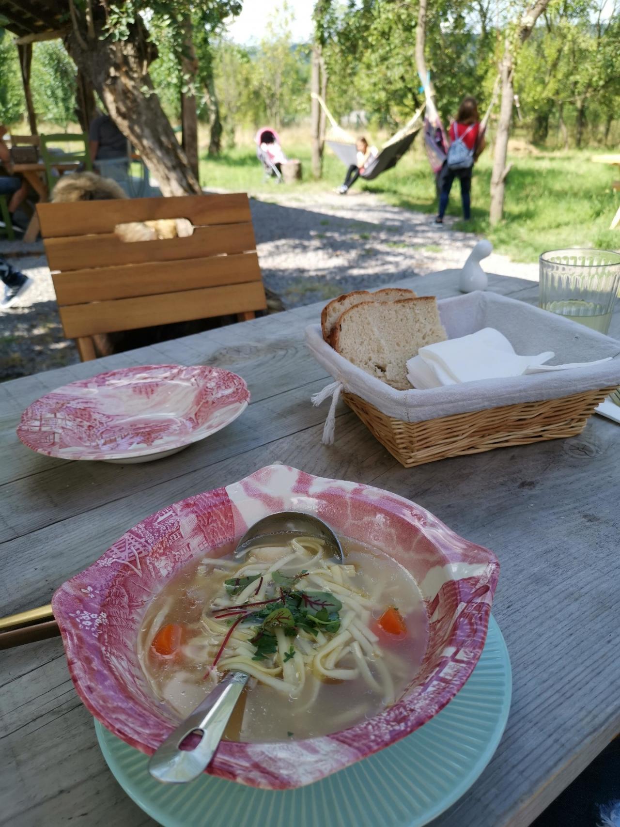 Supa de legume Viscri Romania