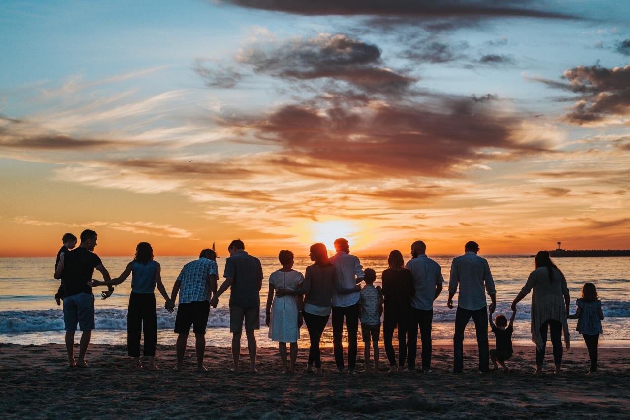 Impreună din nou la mare, familie si prieteni